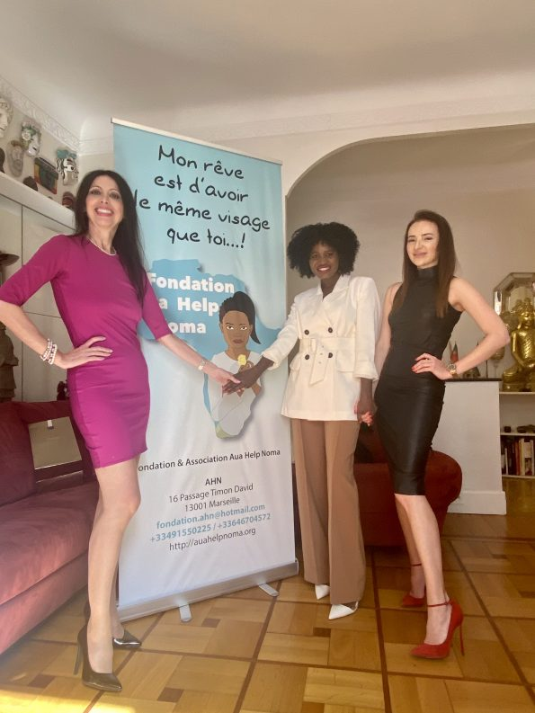 """IMG 1256 595x793 - """"Monaco and Friends"""" Backstage Ep. 6 hosted by Lorena Baricalla, with Yulia Berisset and the participation of Lucille Gomes, Founder of Aua Help Noma Foundation!"""