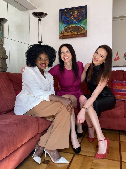 """IMG 1267 e1623519280256 480x640 - """"Monaco and Friends"""" Backstage Ep. 6 hosted by Lorena Baricalla, with Yulia Berisset and the participation of Lucille Gomes, Founder of Aua Help Noma Foundation!"""