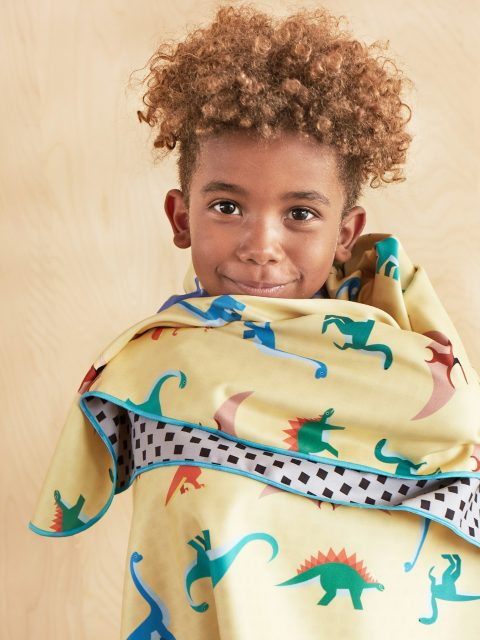 Bibu dinos towel amb2 480x640 - Bibu, the creative and sustainable luxury of interior design for children