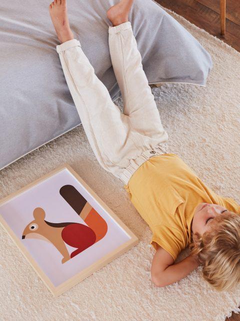 bibu squirrel prints kids decor amb 480x640 - Bibu, the creative and sustainable luxury of interior design for children