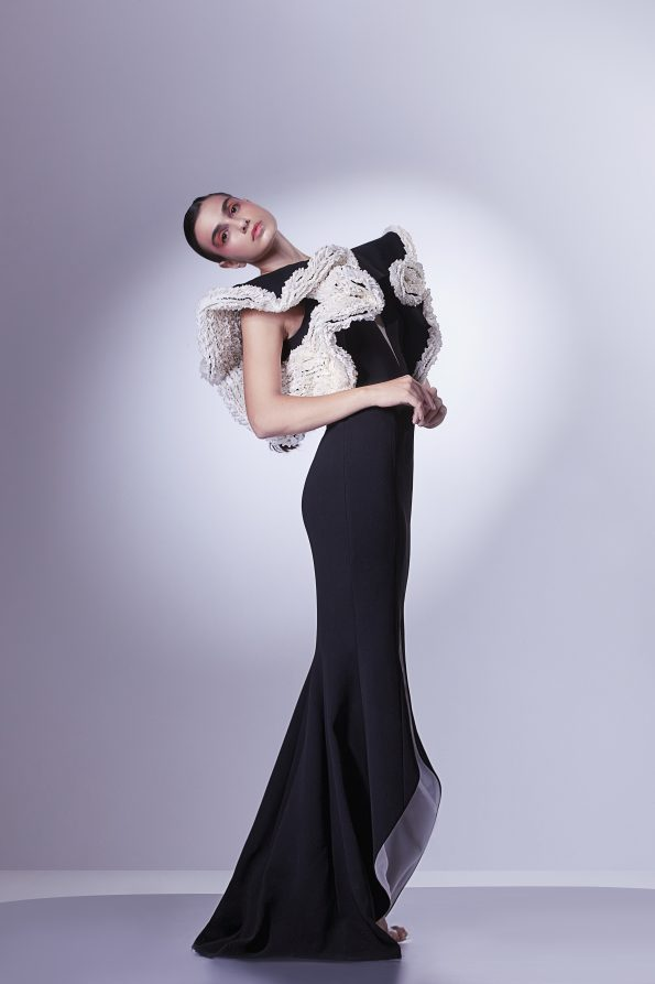 GCS 1303 2 595x893 - Gaby Charbachy, the Glam of an Haute Couture Fashion Designer