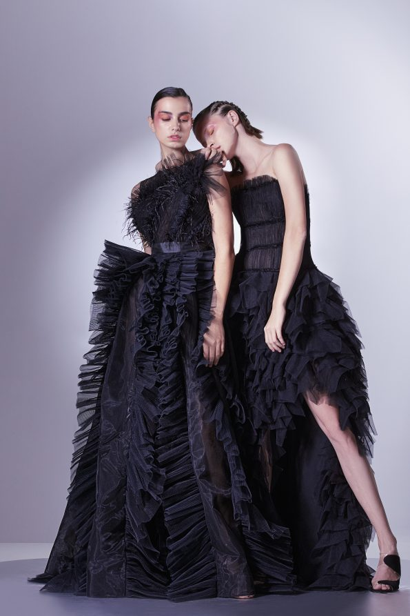 HA 0763 1 f M 595x893 - Gaby Charbachy, the Glam of an Haute Couture Fashion Designer