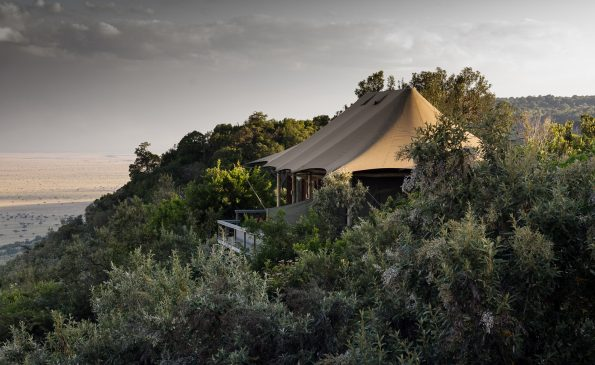 A tent with a view 1 v2jbgu 1 595x365 - Luxe by Mulanda, the luxury travels to best lodges of Africa part I